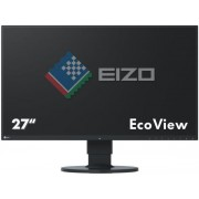 "Monitor IPS LED Eizo 27"" FlexScan EV2750, WQHD (2560 x 1440), HDMI, DVI-D, DisplayPort, 5ms GTG, Boxe, Pivot (Negru) + Bitdefender Antivirus Plus 2017, 1 PC, 1 an, Licenta noua, Scratch Card"