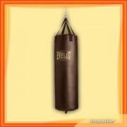 Brown Vintage Boxing Bag empty