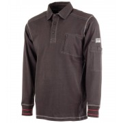 Mascot Workwear Polo Ml Frontline Ios Noir