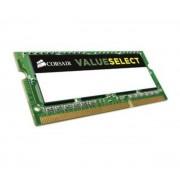 CORSAIR-Corsair Value Select SO-DIMM 8 Go DDR3L 1333 MHz CL9, RAM SO-DIMM DDR3L PC10600 CMSO8GX3M1C1333C9-