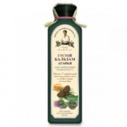 Balsam dens pe baza de apa de gheata cu 17 plante siberiene - stimuleaza cresterea parului (par subtire si fragil) 350 ml Retetele Bunicii Agafia
