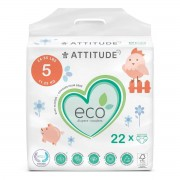 Attitude Diapers Junior Size 5 - 22 Stück - Windel - Kosmetik