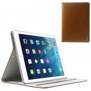 Capa de Couro Doormoon Smart para iPad Air - Castanho