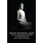 What Buddha Said by Dr Purushothaman Kollam