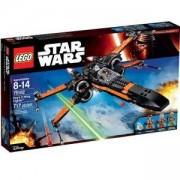 Конструктор Лего Стар Уорс - Х-Уинг Файтър На Пое - LEGO Star Wars, 75102