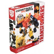 Transformers Age of Extinction Construct-Bots Dinobot Warriors Bumblebee and Nosedive Dino Buildable
