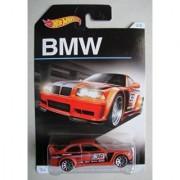 HOT WHEELS EXCLUSIVE BMW SERIES ORANGE BMW E36 M3 RACE 3/8