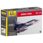Heller 80303 - Modellino da costruire, Aereo Mirage 2000 C, scala 1:72 [Importato da Francia]