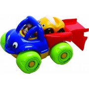 Gowi 2050541 Vehículos en Miniatura Simple Modelo Mini Truck Carrier De Coches