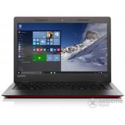 Laptop Lenovo Ideapad 100s 80R9004PHV Windows 10, roşu-negru