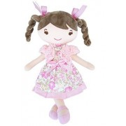 New imported toys for girls little red girl dolls with round eyesb