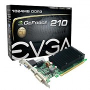 EVGA GeForce 210 (1GB DDR3/PCI Express 2.0/520MHz/1200MHz)