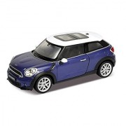 Mini Cooper S Paceman Blue 1/24 by Welly 24050