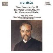 A. Dvorak - Piano Concerto, Water Gob (0730099589628) (1 CD)