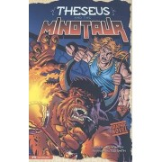 Theseus and the Minotaur by Nel Yomtov