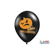 Set 6 Baloane Dovleac Happy Halloween