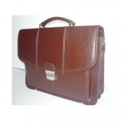 Small Leather Briefcase No.523+