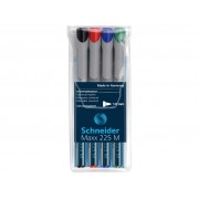 OHP Marker Mediu Nepermanent Schneider 4/set 225, 1mm