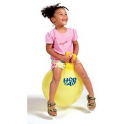 CPEX 17 Inches Hopping Bouncing Inflatable Hop Ball Toys for Children Kids (Assorted Color)