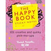 The Happy Book Sticky Notes by Rachel Kempster