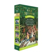 Magic Tree House Books #5-8 by Mary Pope Osborne