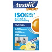 Taxofit Iso Energy Drink zitrus Mineraldrinks