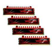 Memorie G.Skill Ripjaws 16GB (4x4GB) DDR3, 1333MHz, PC3-10600, CL9, Dual Channel, Quad Kit, F3-10666CL9Q-16GBRL