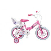"""Toimsa - 611 - Vélo pour Enfant - Minnie Mouse - Fille - 12"""" - 3 à 5 ans"""