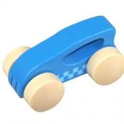 Early Explorer Preschool Kids Toddlers Wooden Little Auto Blue