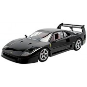 Ferrari F40 Light Weight Black With LM Wing 1/12 by Kyosho 08602bklm (japan import)