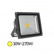 Vision-EL Projecteur Led 30W (270W) extérieur IP65 Blanc chaud