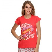 Trendy Graphic T-Shirt In Cotton (LT0010P14)
