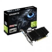 Gigabyte GV-N710SL-2GL Carte graphique Nvidia GT710 954 MHz 2048 Mo PCI Express