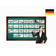 Locations and Places around Town Flashcards in German - Bildkarten - Orte