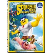 The SpongeBob Movie Sponge Out of Water DVD 2015