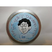 """ION GLOW IN THE DARK Crazy Aaron's Thinking Putty New small 2"""" tin"""