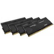 HyperX Predator HX421C13PBK4/32, 32GB Kit (4x8GB), 2133MHz, DDR4, Non-ECC CL13 DIMM XMP, Compatibili con Skylake