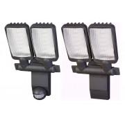 Brennenstuhl LED Leuchte Duo Premium mit 54 x 0,5 Watt LEDs, IP44