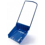 Pala a spinta ABS blu con profilo alluminio e ruote 68x72