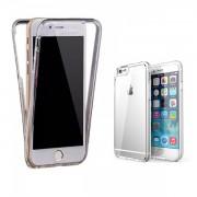 Husa de Silicon Fata Spate iPhone 6/6S UltraSlim Two Crystal Case