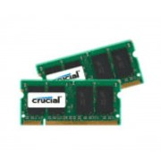 8 Go (2x 4 Go) DDR2-SDRAM PC6400 CL6 - CT2KIT51264AC800 (garantie 10 ans par Crucial) (CT2KIT51264AC800)
