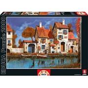 Educa Kids La Cascina Sul Lago Puzzle (2000-Piece)