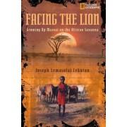 Facing the Lion by Joseph Lemasolai Lekut