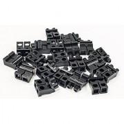 New Lego Black Minifigure Legs Lot of 20 Pieces