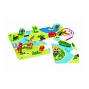 Hape HAP-E1021 On Safari Play Set