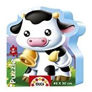 Educa Puzzle Mignon 14961 Jigsaw Puzzle - 24 Pieces - Cow Theme