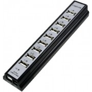 Hub USB 2.0 LogiLink UA0096 10 porturi (Negru)