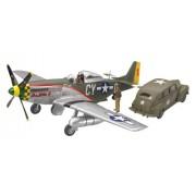 P-51D Mustang and Staff Car 1/48 Tamiya Tamiya [Toy] (japan import)