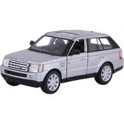 Baby Steps Kinsmart Die-Cast Metal Range Rover Sport Silver (Grey)
