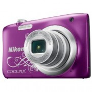 Digital Camera Coolpix A100 Purple + Калъф + Карта памет 8GB